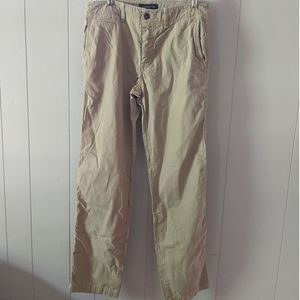 American Eagle Relaxed Straight Chinos 30x34